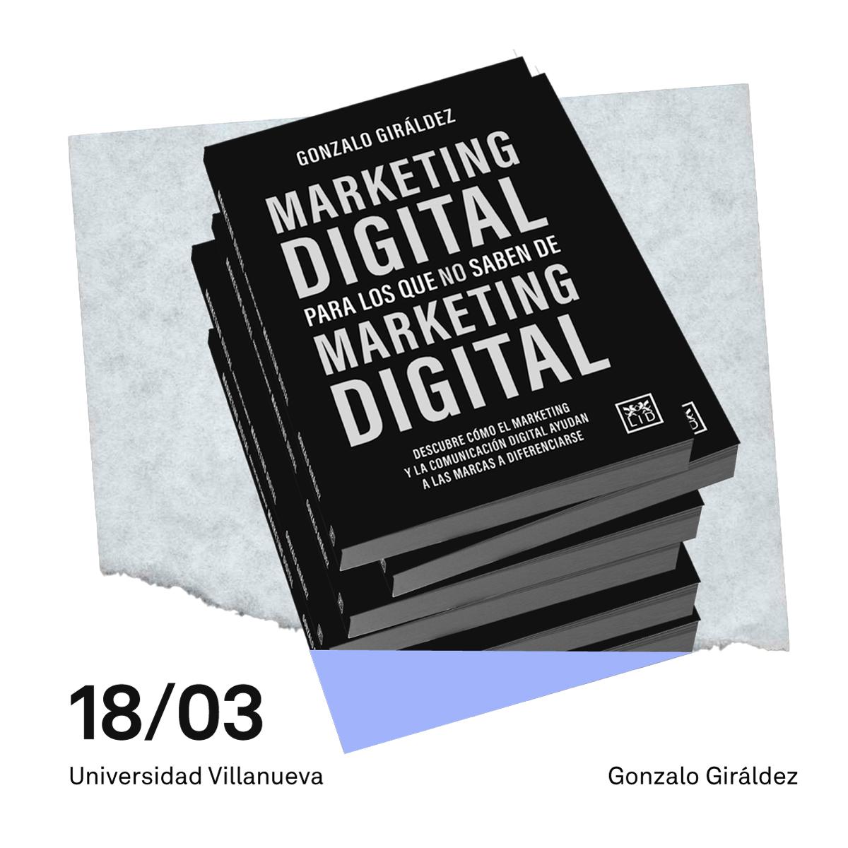Presentación libro Marketing Gonzalo Giráldez